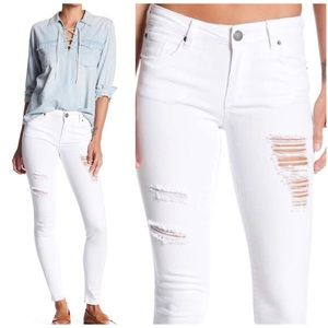 'STS Blue' Jeans Distressed White NWT Size 30 (10)
